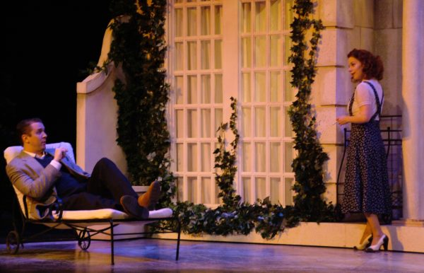 The Philadelphia Story. Kyle Barnette, Angela Ingersoll. Playhouse on the Square.