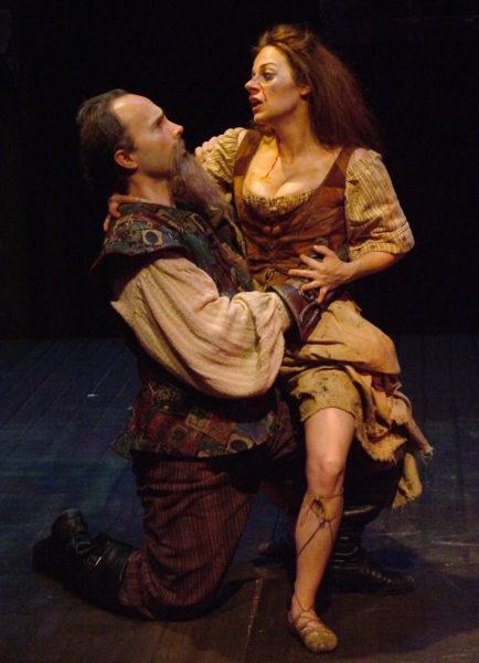 Man of La Mancha. Michael Detroit, Angela Ingersoll. Playhouse on the Square.