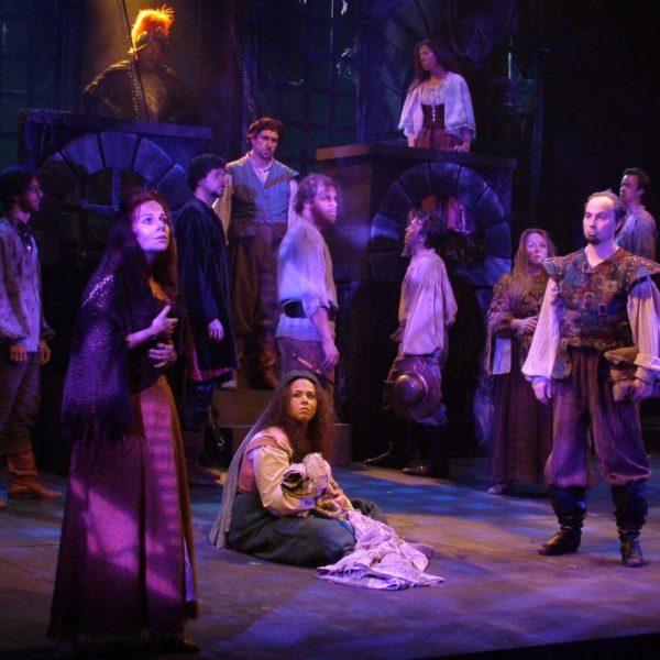 Man of La Mancha. Angela Ingersoll, Ensemble. Playhouse on the Square.