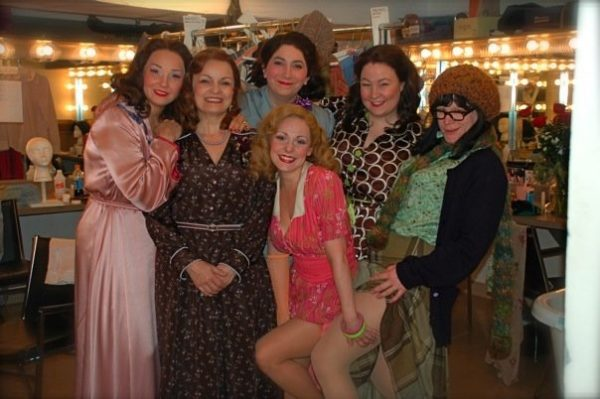 The Comedy of Errors. Backstage. The Lovely Ladies of Comedy. Chicago Shakespeare Theater.