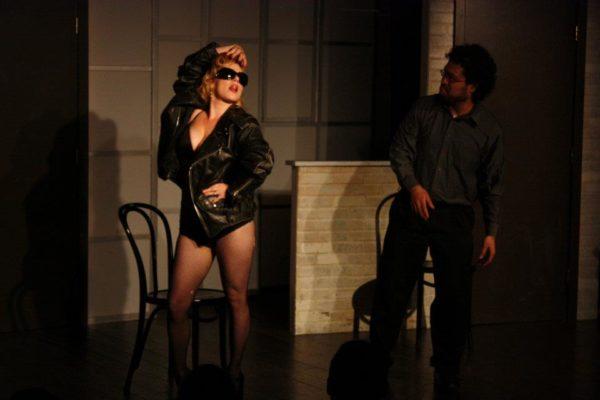 Second City Hollywood. Angela Ingersoll as Lady Gaga.