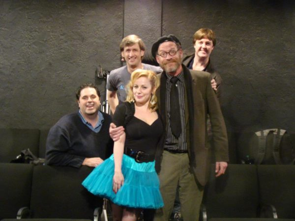 Second City Hollywood. Peter Aiello, Mikey Hann, Angela Ingersoll, Ron West, Jim Rowley.