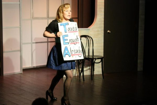 Second City Hollywood. Angela Ingersoll as a Tea Party Member.