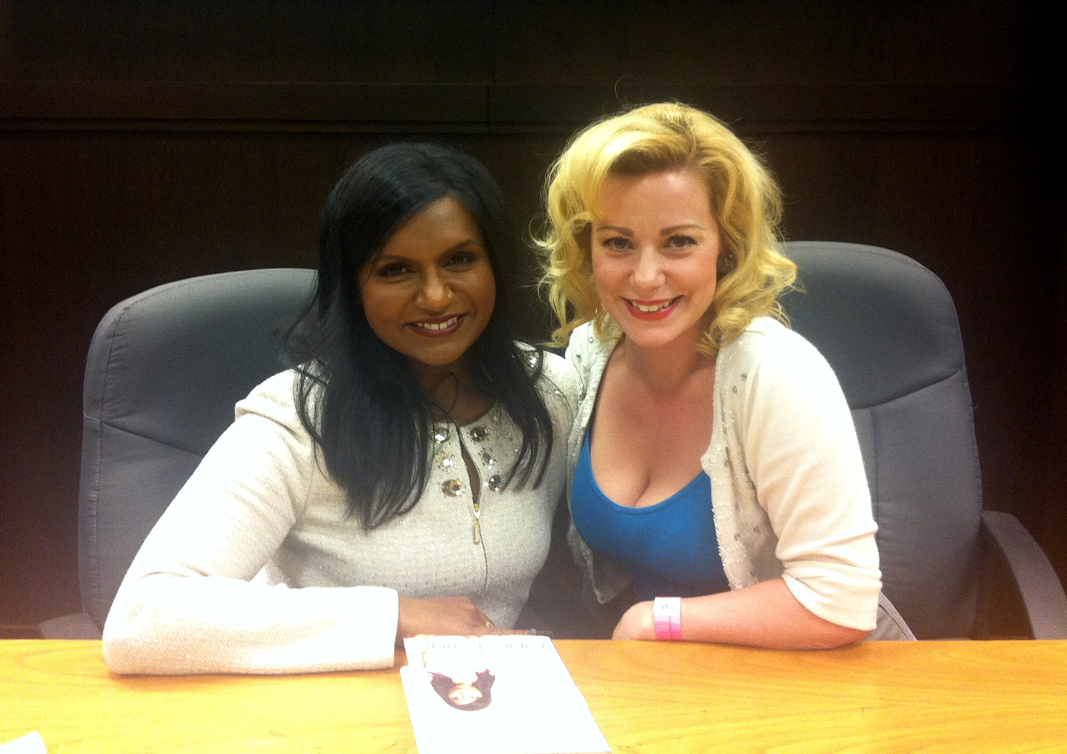 Is Everyone Hanging Out With out Me? Book Signing, Mindy Kaling & Angela Ingersoll
