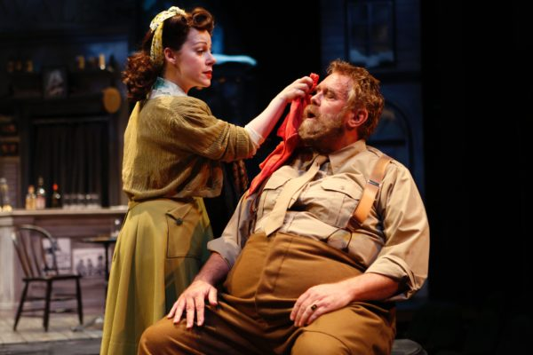 The Merry Wives of Windsor. Angela Ingersoll, Scott Jaeck. Chicago Shakespeare Theater.
