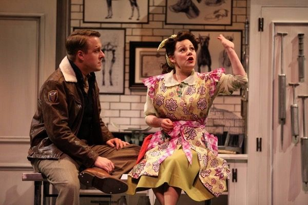 The Merry Wives of Windsor. Matt Mueller, Angela Ingersoll. Chicago Shakespeare Theater.