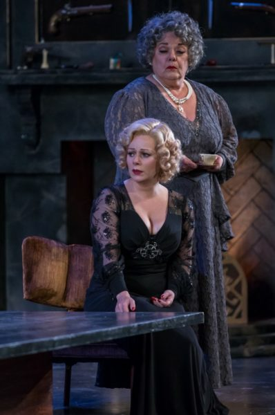 The Game's Afoot. Alene Robertson, Angela Ingersoll. Drury Lane Theatre.