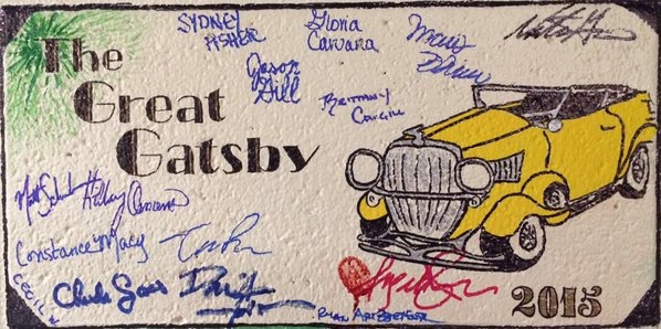The Great Gatsby. Backstage. Indiana Repertory Theatre.
