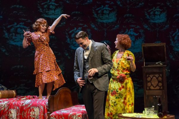 The Great Gatsby. Angela Ingersoll, Zach Kenney, Constance Macy. Indiana Repertory Theatre.