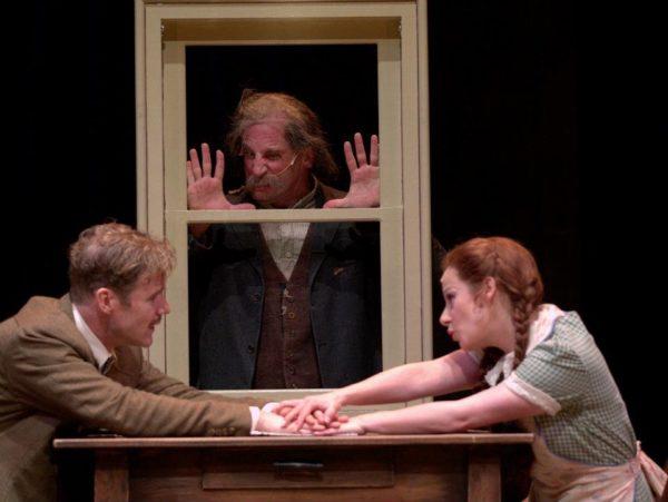 The 39 Steps. Peter Simon Hilton, Paul Kalina, Angela Ingersoll. Drury Lane Theatre.