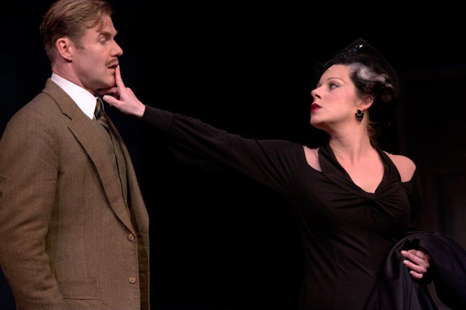 The 39 Steps. Peter Simon Hilton, Angela Ingersoll. Drury Lane Theatre.