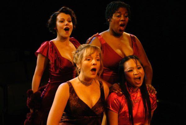 The Mistress Cycle. Angela Ingersoll, Susie McMonagle, Karen Marie Richardson, Carol Angeli. Apple Tree/Auditorium Theatre.