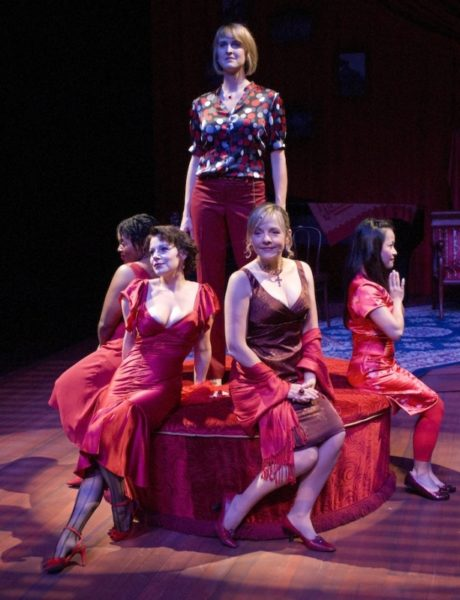The Mistress Cycle. Karen Marie Richardson, Angela Ingersoll, Charissa Armon, Susie McMonagle, Christine Bunuan. Apple Tree/Auditorium Theatre.