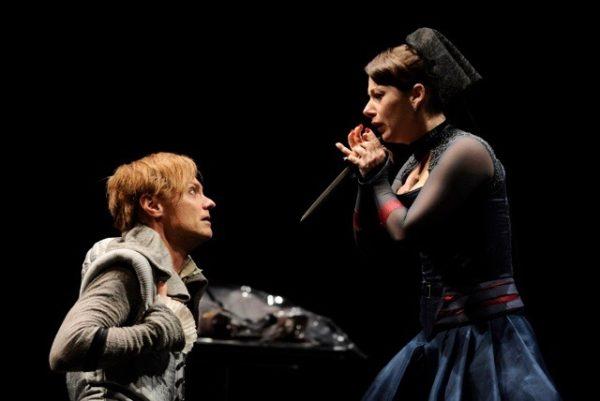 Richard III. Wallace Acton, Angela Ingersoll. Chicago Shakespeare Theater.