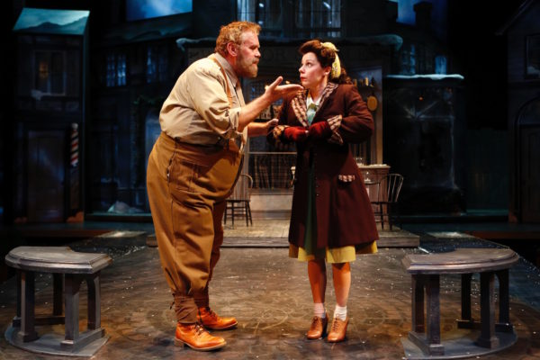 The Merry Wives of Windsor. Scott Jaeck, Angela Ingersoll. Chicago Shakespeare Theater.
