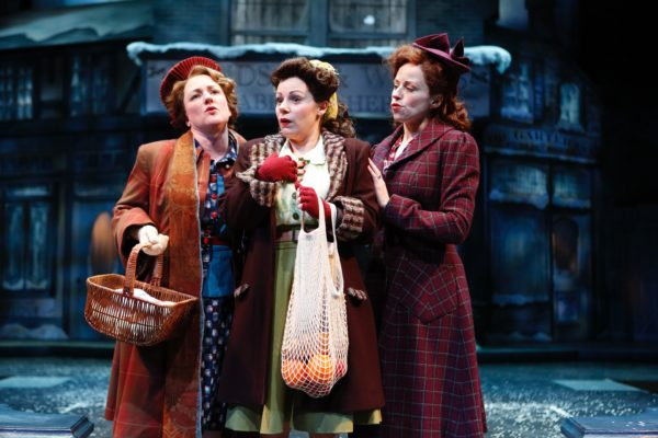 The Merry Wives of Windsor. Kelli Fox, Angela Ingersoll, Heidi Kettenring. Chicago Shakespeare Theater.