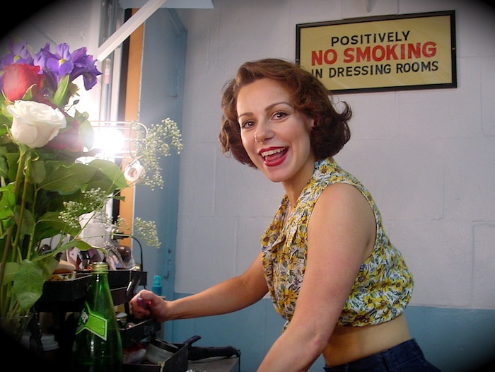South Pacific. Backstage. Angela Ingersoll. Light Opera Works.