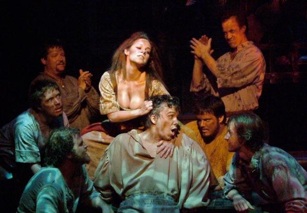 Man of La Mancha. Angela Ingersoll, Male Ensemble. Playhouse on the Square.