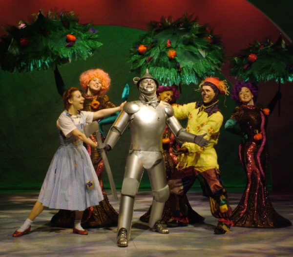 The Wizard of Oz. Angela Ingersoll, Michael Ingersoll, Brain James Porter. Playhouse on the Square.