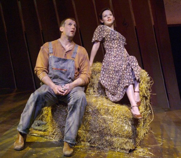 Of Mice and Men. George Dudley, Angela Ingersoll. Playhouse on the Square.