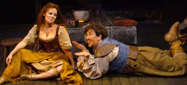 Man of La Mancha. Angela Ingersoll, Pete Montgomery. Playhouse on the Square.