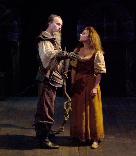 Man of La Mancha. Michael Detroit, Angela Ingersoll. Playhouse on the Square.