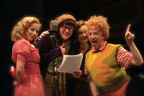 The Comedy of Errors. Angel Ingersoll, Nancy Voigts Godinez, Paula Scrofano, Ross Lehman. Chicago Shakespeare Theater.