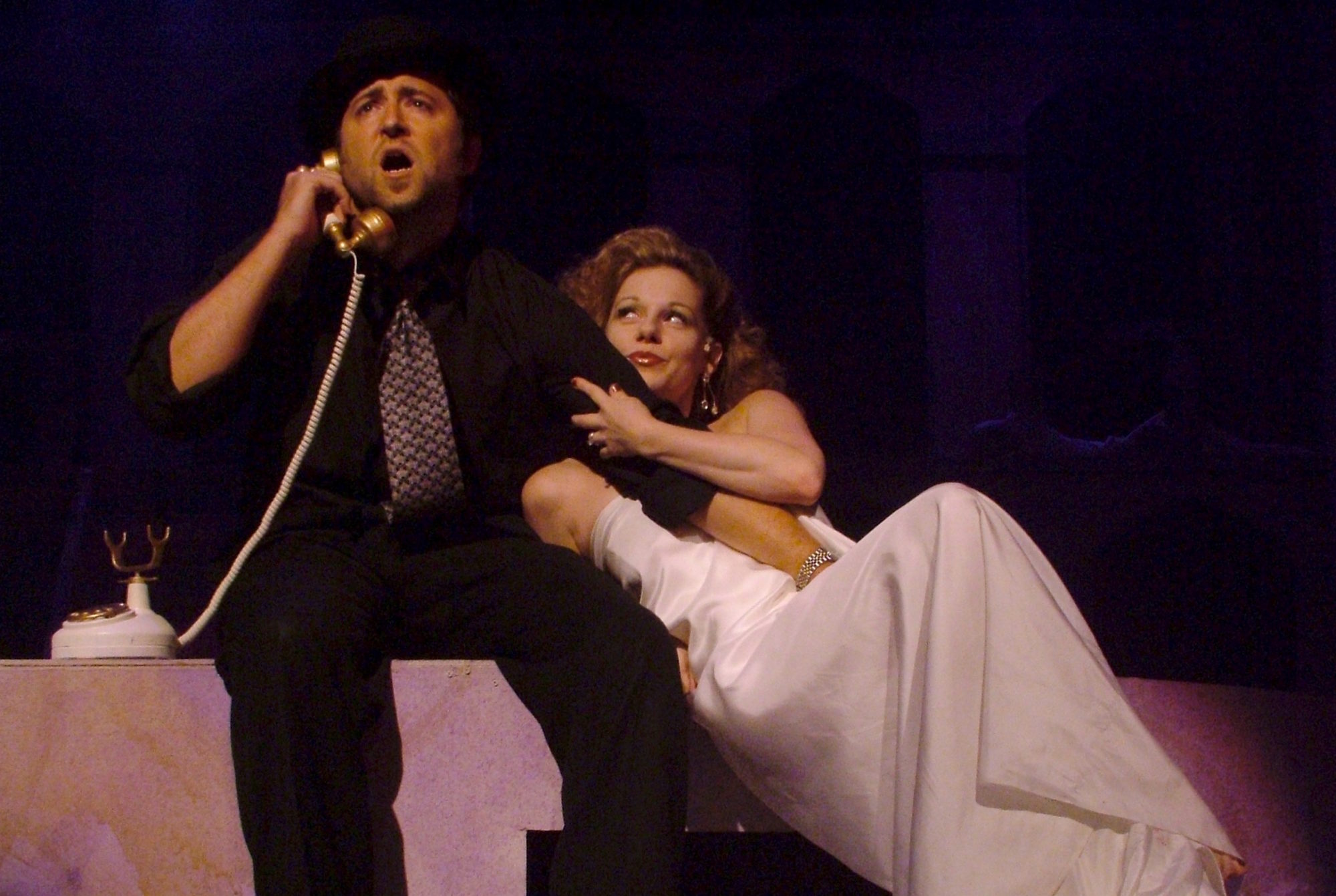 Nine. Jason Watson, Angela Ingersoll. Playhouse on the Square.
