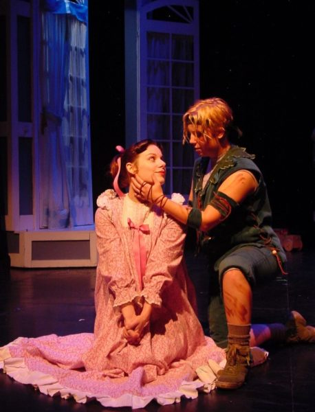 Peter Pan. Angela Ingersoll, Courtney Oliver. Playhouse on the Square.