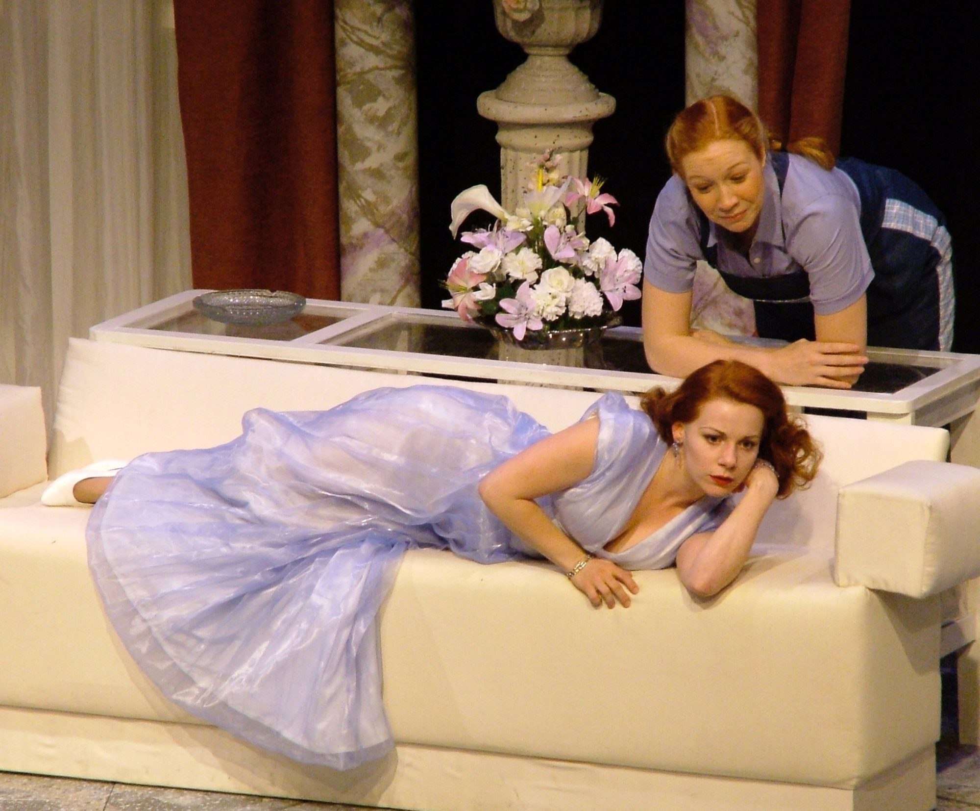 The Philadelphia Story. Angela Ingersoll, Elspeth Runyon. Playhouse on the Square.