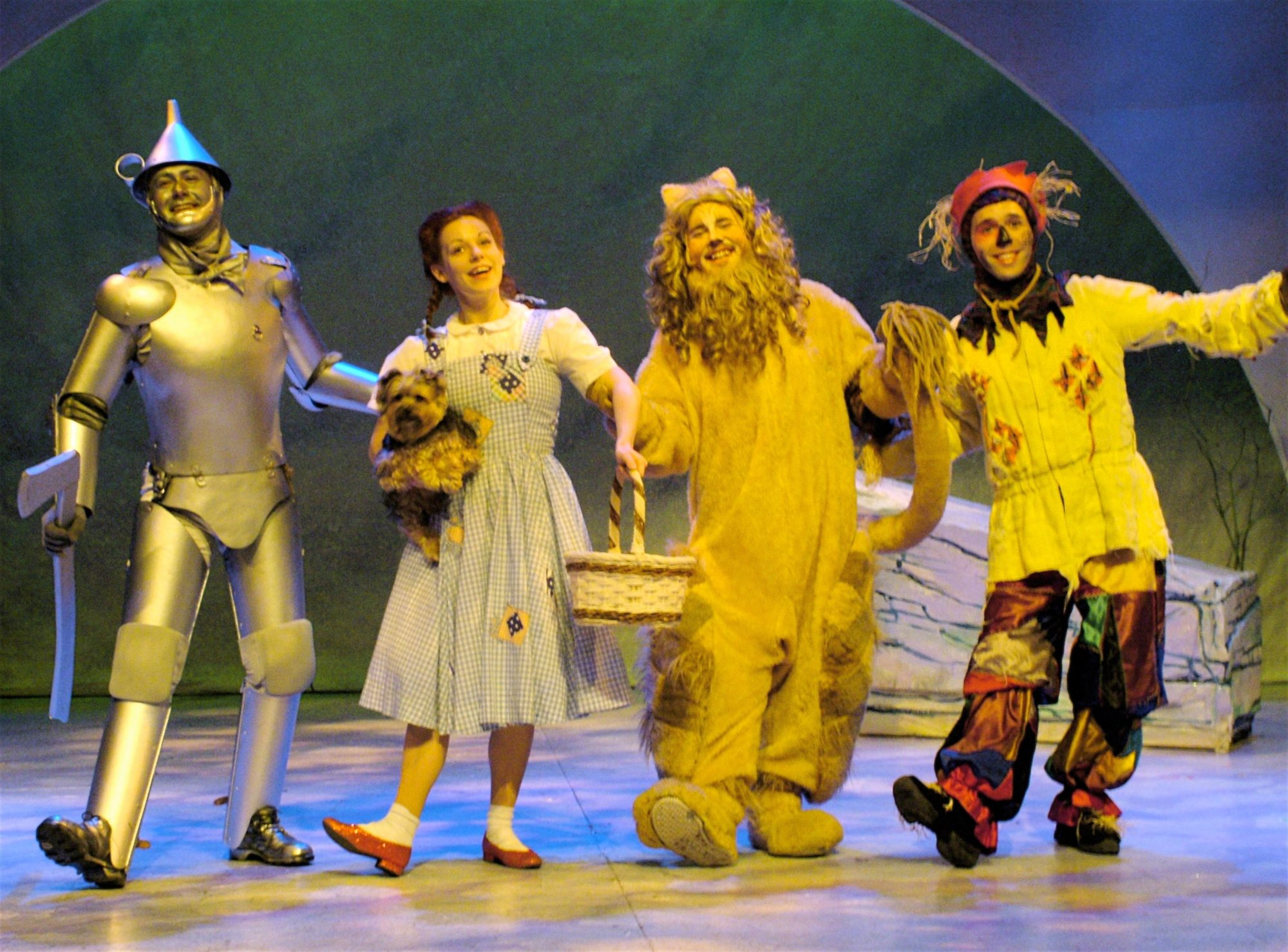 The Wizard of Oz. Michael Ingersoll, Angela Ingersoll, Brain James Porter, Harry Culpepper. Playhouse on the Square.
