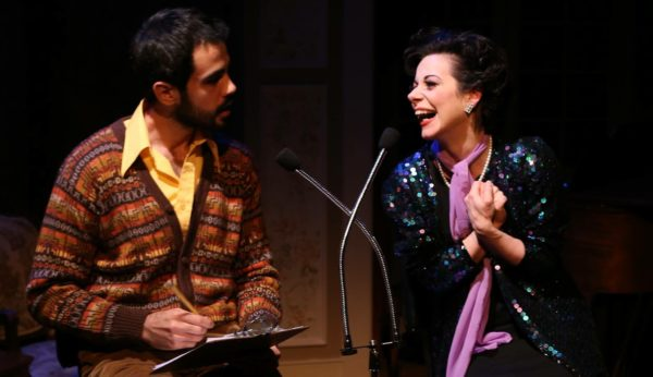End of the Rainbow. Felipe Jorge, Angela Ingersoll. Porchlight Music Theatre.